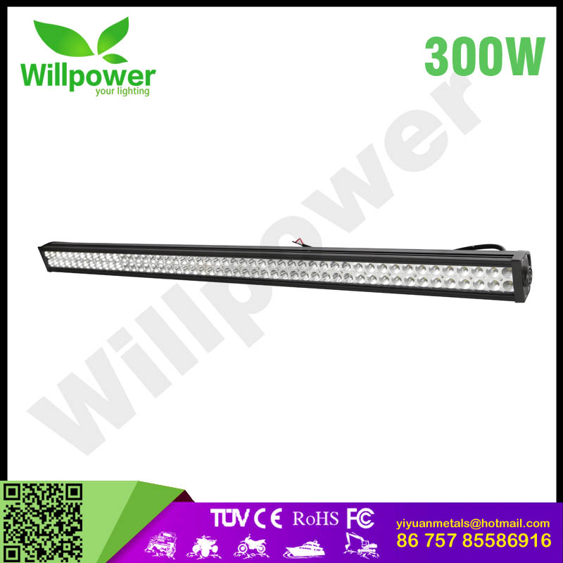 "50""inch 300W used cars off road led bar light bar military vehicles"