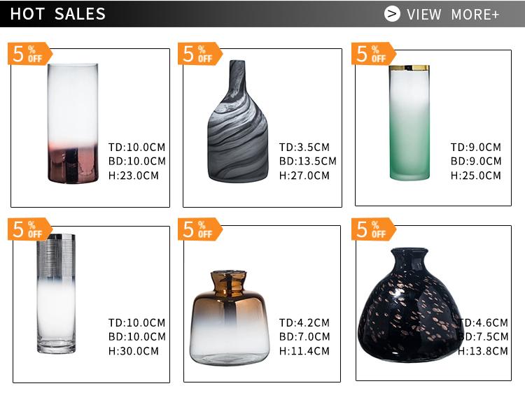 На заказ Меркурий антикварные Мурано синие стеклянные вазы