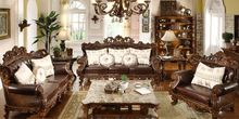 furnishings solid wood sofa
