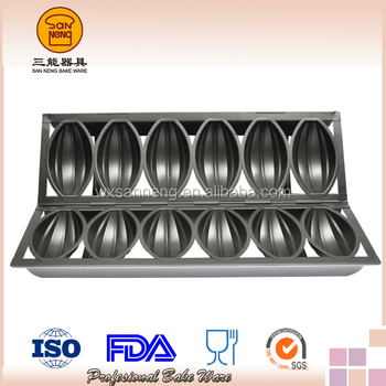7 Straps Non -Stick Bomb Mould For Bakery Shop