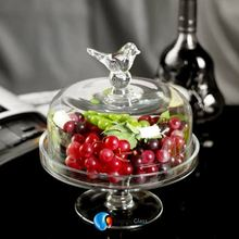 Samyo Custom Glassware Manufacturer mini cake stand
