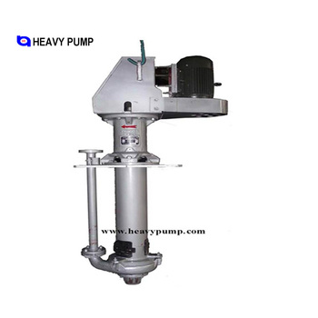 "8"" VS(L)-SV Vertical Slurry Pump Sump Pump for High Density Abrasive/Corrosive Slurry"