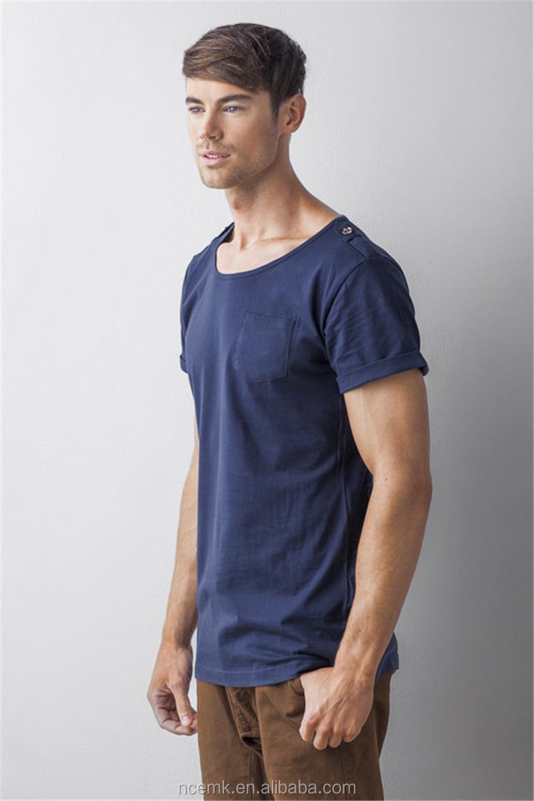 13052209 Mens White Scoop Neck T Shirt