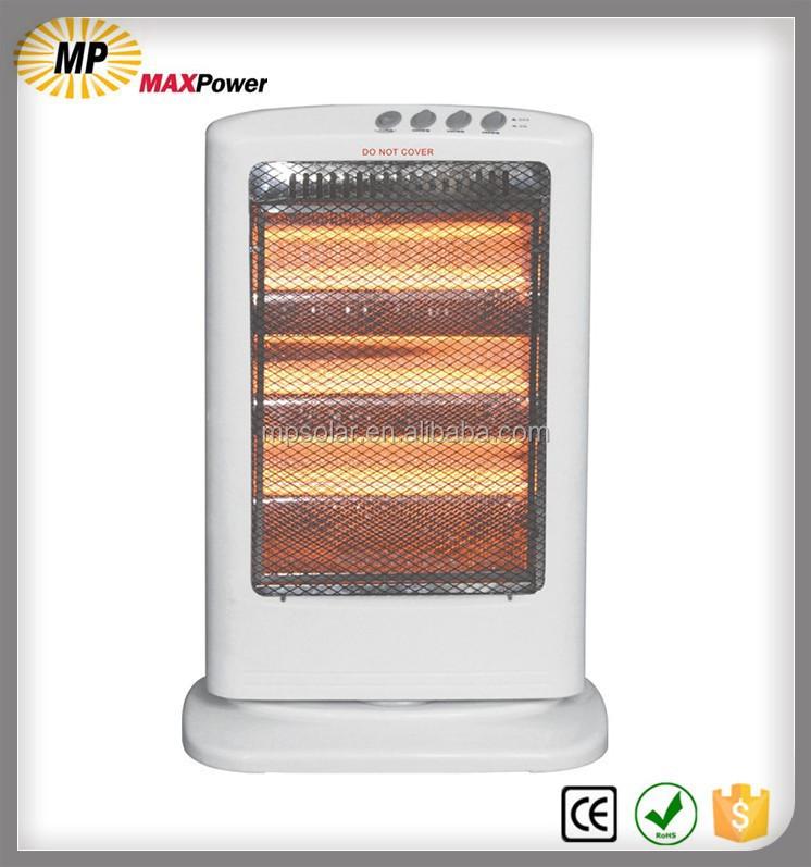 1200 w quartz infrarouge chauffe chauffage par 3 lampes avec promotion prix radiateur lectrique. Black Bedroom Furniture Sets. Home Design Ideas