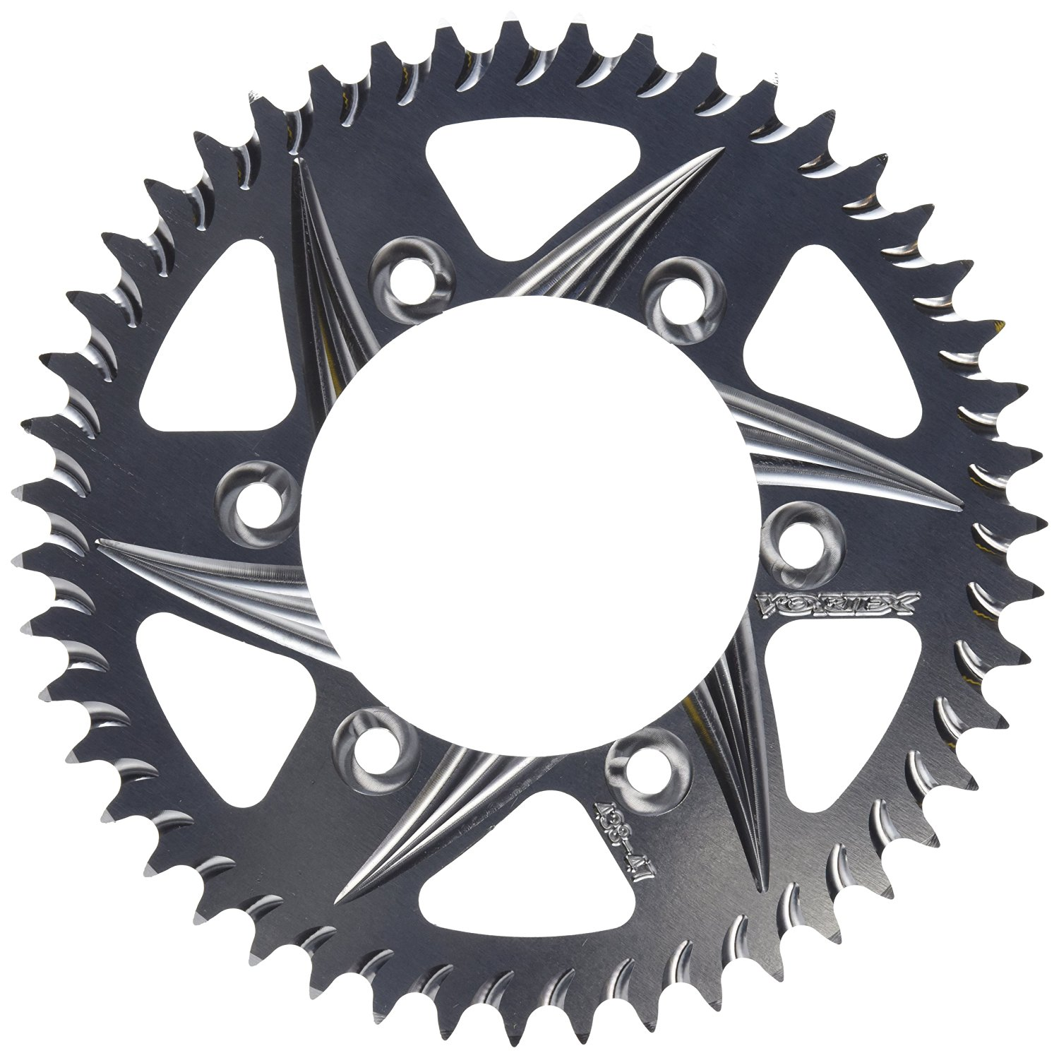 Vortex 526AK-47 47-Tooth 520-Pitch Hardcoat Rear Sprocket