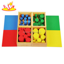 Wholesale preschool wooden montessori educational toys for kids W12F020