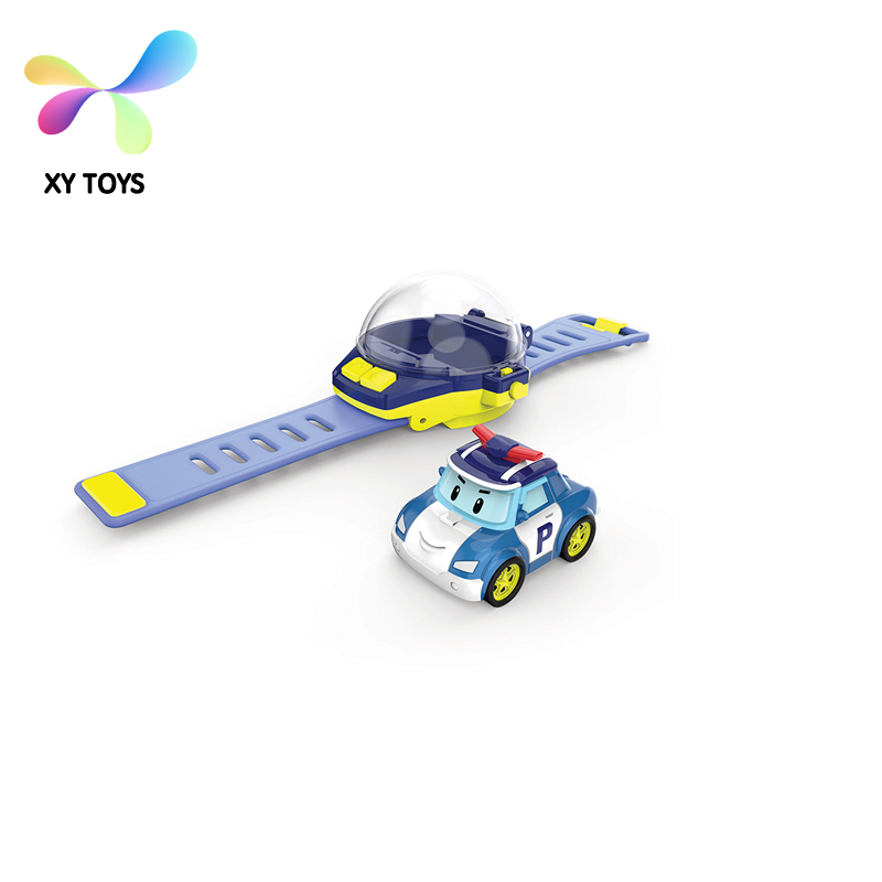 XY-5213 Watch Acoustic Smart RC Car 6 Sytles Optional Voice Control Watch RC Car for Child Gift Intelligence TOY