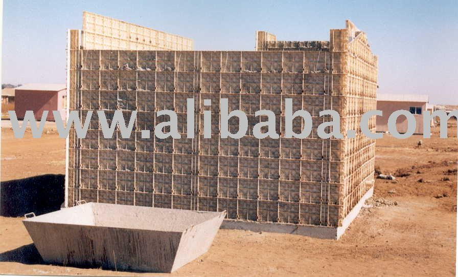 Moladi Plastic Formwork Tsunami Proof Housing Construction