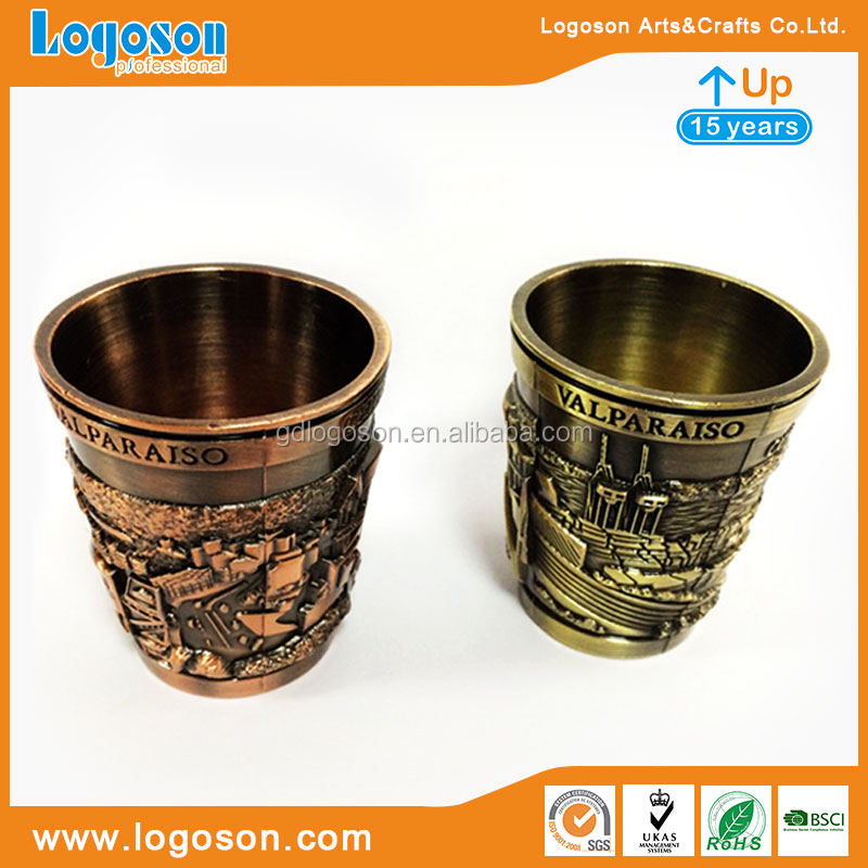 LOGOSON Brand Souvenir Shot Glass Decorative Glass Personalized Shot Glasses