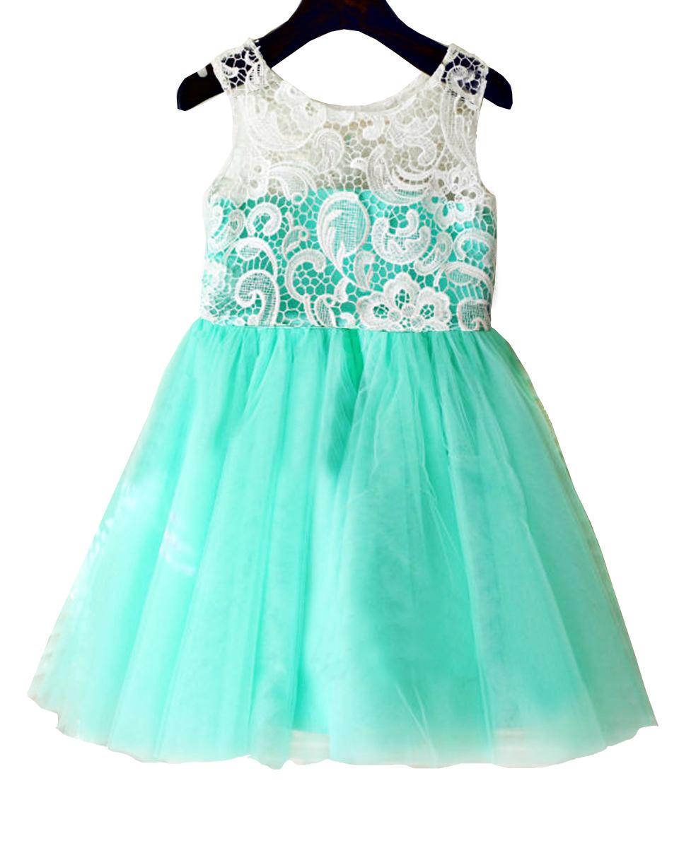 Aqua Dresses for Teens