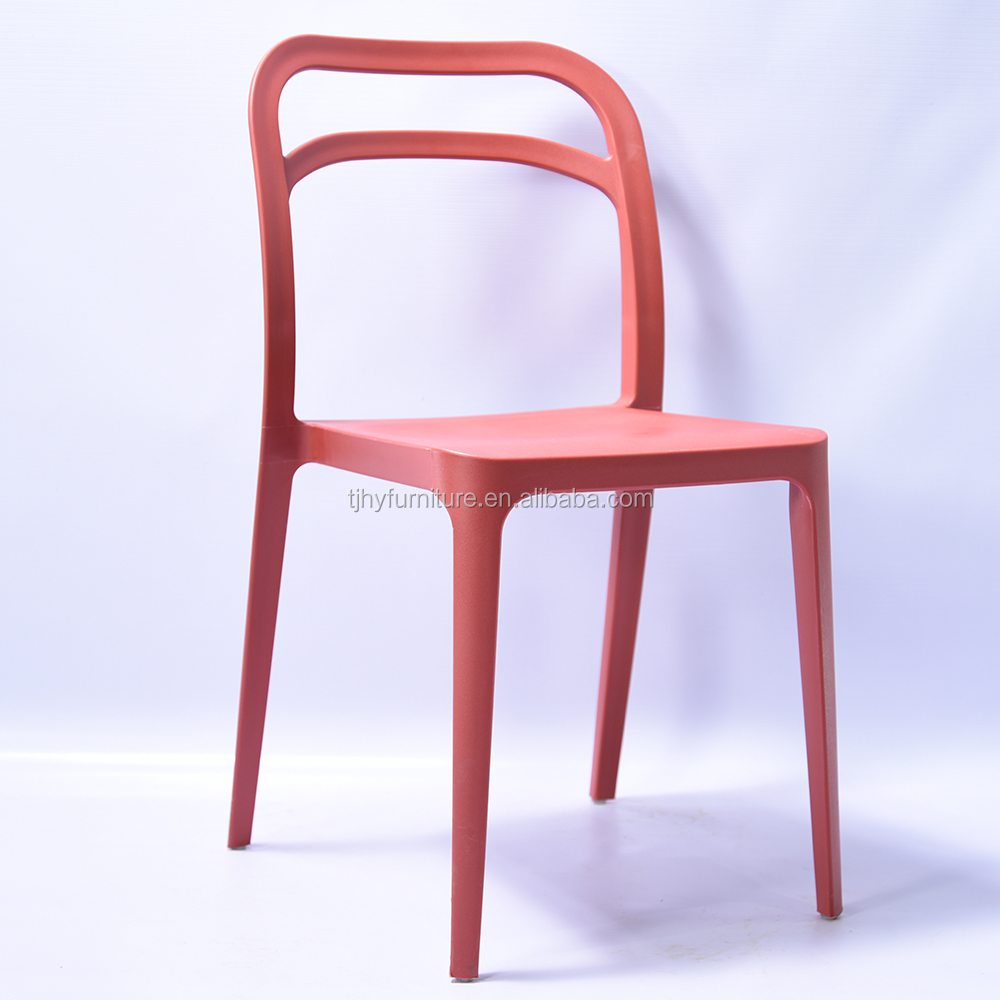 Wholesale cheap outdoor modern stackable plastic dining chairs price