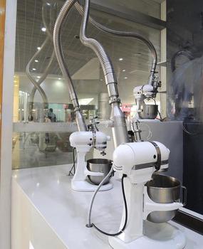 Liquid nitrogen ice cream making