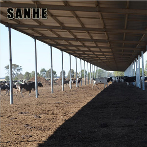 High quality Long span steel structure FOR pig farm