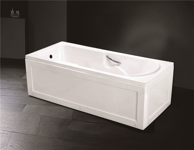Greengoods Bath Factory Abs Foldable Bathtub With Two
