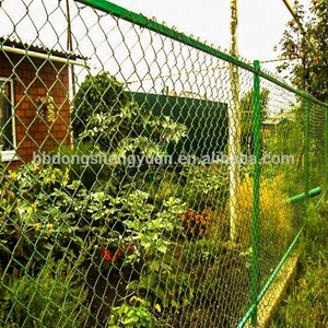Chain Link Welded Wire Mesh Hot Dipped Galvanized Mobile chain link Fence Panel in Construction Site,Building