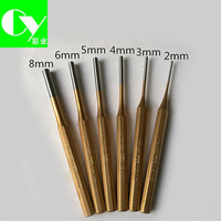 Offset Printing Machine Tools 2-8mm Golden Paper Drill Bit