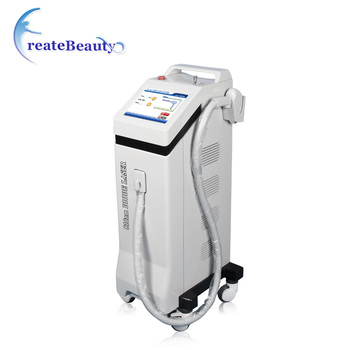 2018 newest  810nm diode laser hair removal machine for beauty salon