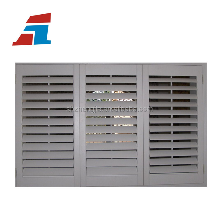 Shanghai high quality aluminium louver window glass