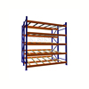 Warehouse rolling shelving roller rack system storage