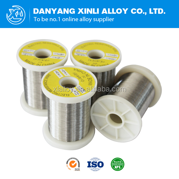 Electrical nicr alloy nichrome 80 heating resistance wire