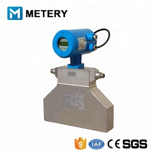 DN150mm Coriolis Density Meters For Liquid Density Mass Flow Meter