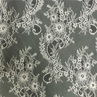 2016 New Colorful Flower Bright Nylon Lace Fabric Bulk Lace Fabric for Lingerie