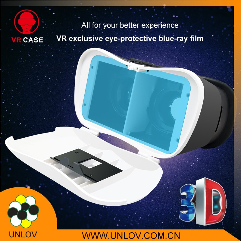 China Newest VR Case 3d glasses accessories anti radiation blue light film eye protector