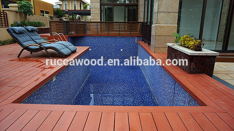 2018 wpc wood 140 25mm cheap composite trex decking tiles for Cheap composite decking