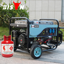 BISON(CHINA) 5kw 5000w Air-cooled Electric Start Portable Power Natural Gas Generator Prices In Pakistan