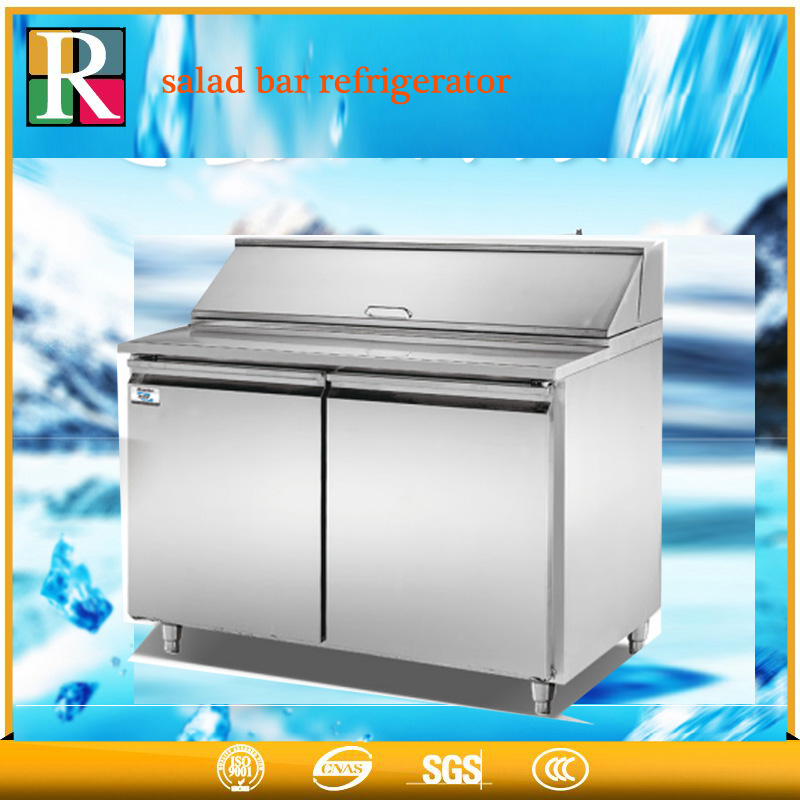 Air cooling systems industrial refrigerator and freezer stainless steel under counter salad bar refrigerator sale