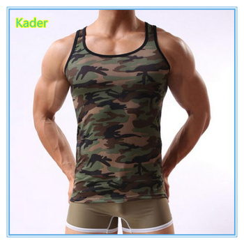 c49be53de3ff9 Fashion Polyester Digital Sublimation Printed Tank Top Man