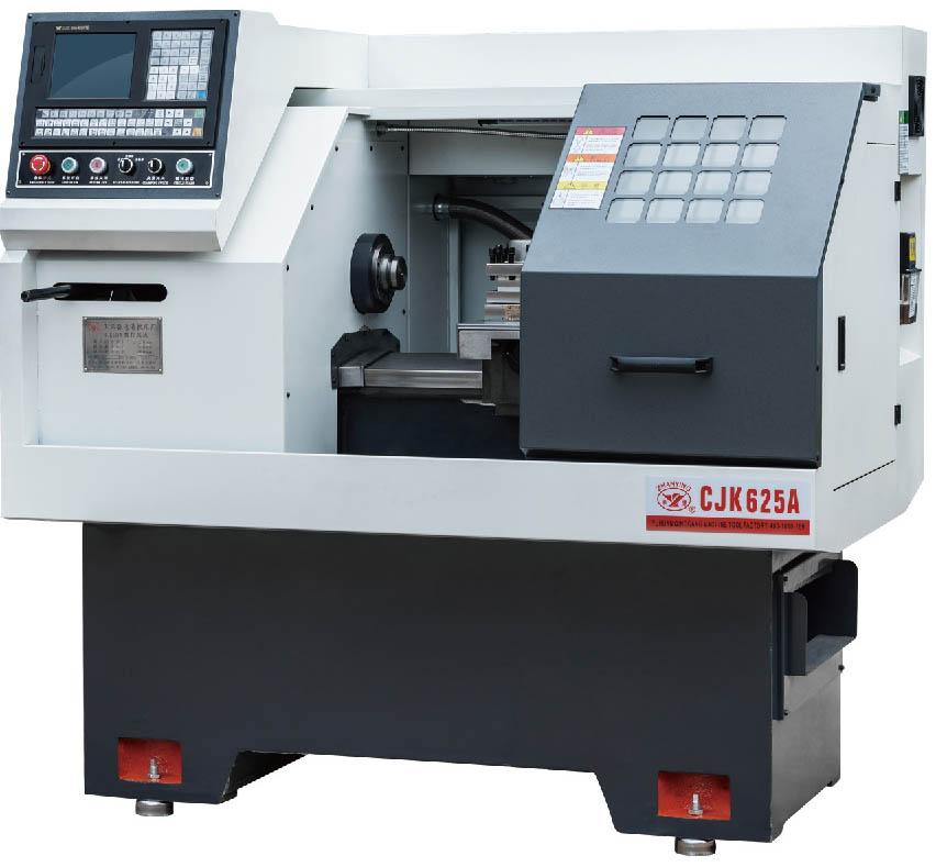 Cjk625a New Small Semi Atomatic Cnc Lathe Machine - Buy Good Quality Cnc  Lathe Machine,Chuck 3 Jaw Cnc Lathe Machine,Chinese Metal Cnc Lathe Machine