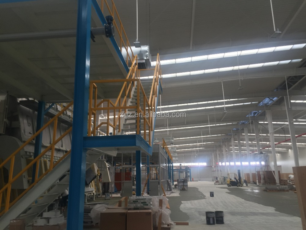 Hot sales Galvanized steel stair for steel structure building