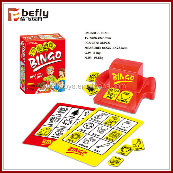 Multifunction baby toy bingo