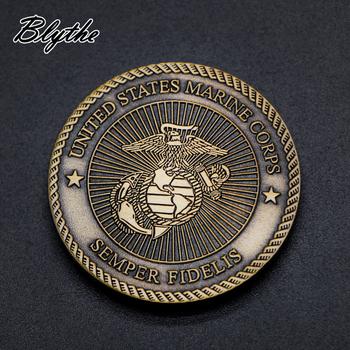 Benutzerdefinierte Logo Antike Osten Indische Alte Münze Wert Metall