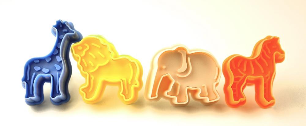 cp-205lion elephant zebra giraffe animal 4 pcs cookie cutter set.jpg