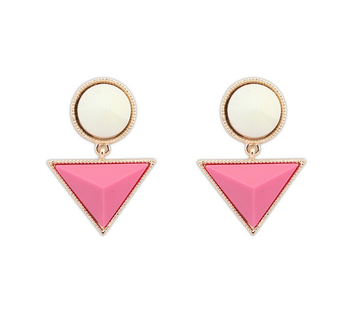 Fashion Earring Designs New Model Simple Design Gold Metal ...