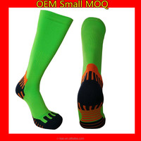 Wholesale Custom Gym Soccer Socks Cycling Socks Knee High Running Sport Compression Socks
