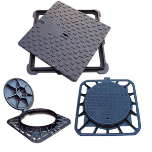wholesale price ductile iron casting manhole cover