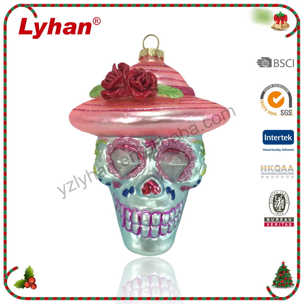 Lyhan Halloween ornament new product for 2017 Christmas tree decoration