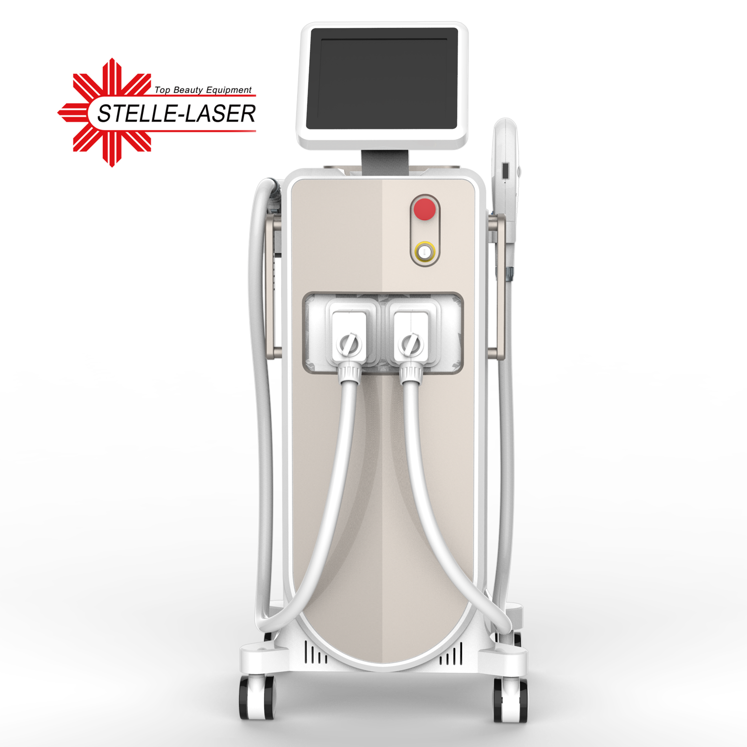 2 Handles OPT System IPL/SHR Diode Laser Painfree Hair Removal <strong>Device</strong>