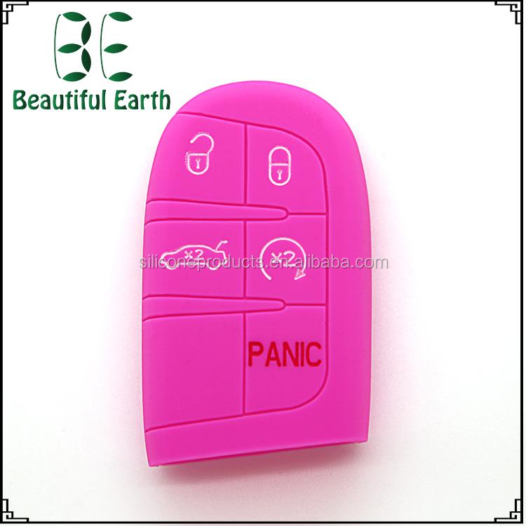 Customized Fashionable Silicone Remote Control Car Key Case for Land Rover