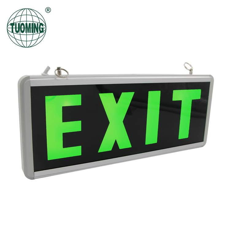 New Emergency LED Exit Sign Light, Fire Safety Exit Indicator Light With CE ROHS