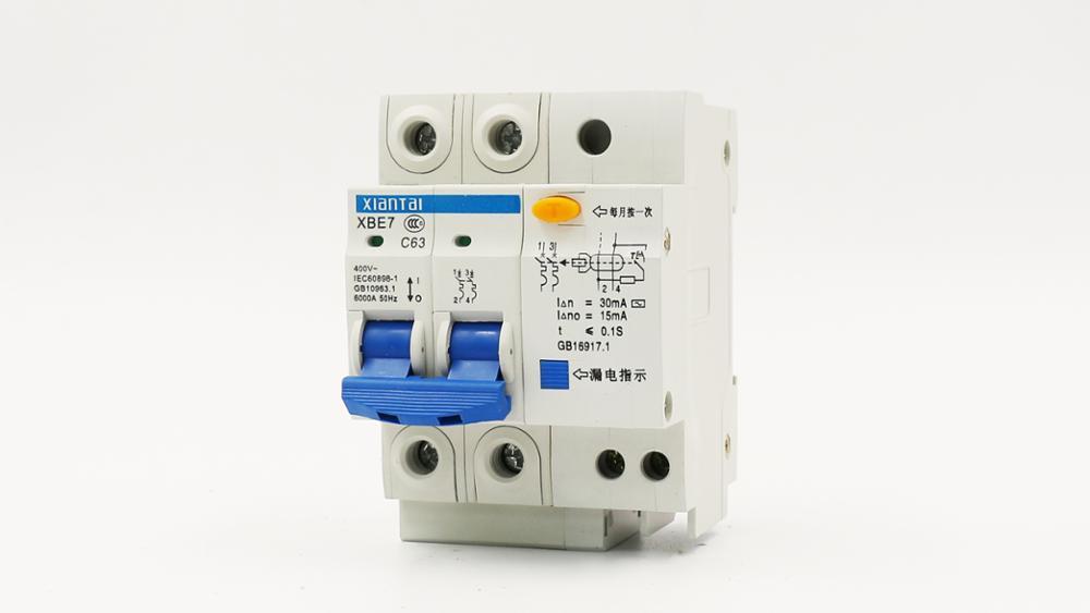 Mcb Herstellung Produzieren Elektrische Schalter Fi-schutzschalter ...