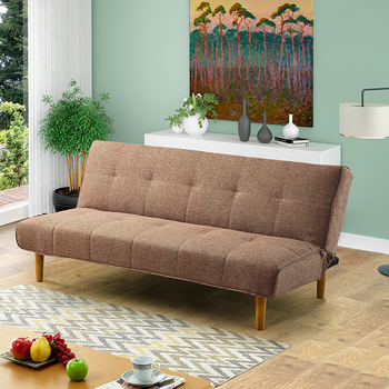 Gs839 Wooden Frame Sofa Bed Fabric Israel Stan 2 In 1