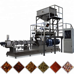 Automatic Big Capacity Low Consumption Factory Price Pet Food Extrusion Processing Line Machine