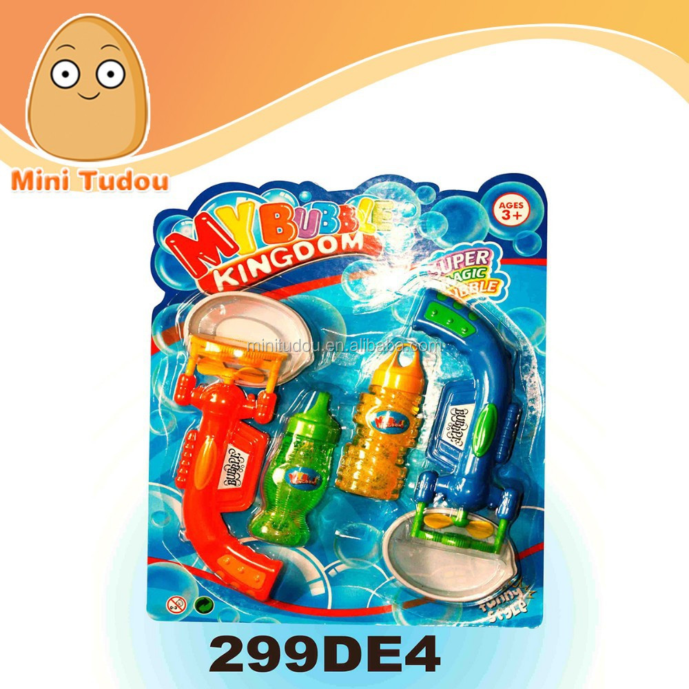 Hot Plastic Bubble Shooter Wrist Water Gun Toy Play Set for kids