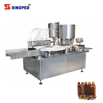 High Quality Vial Liquid Filling and Stopper Machine