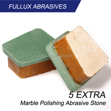 5 Extra Frankfurt Bricks for Marble Grinding and Polishing
