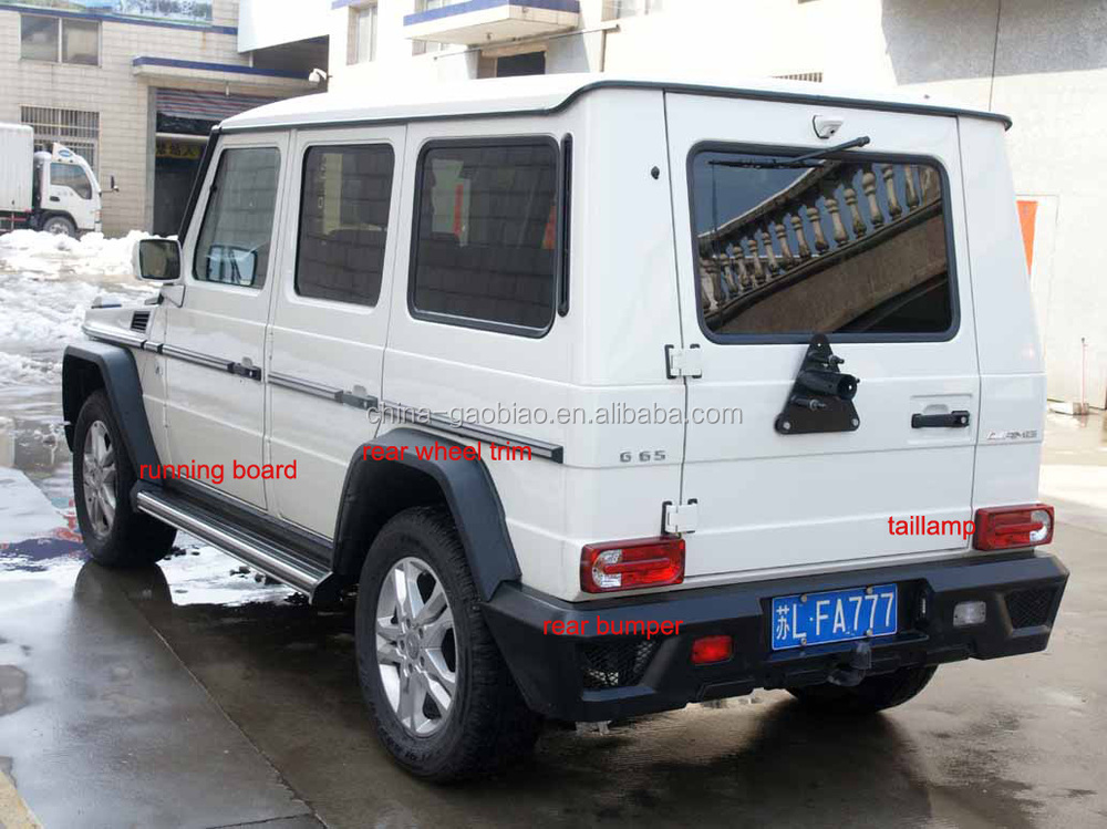For w463 g wagon spare tire cover carbon fiber part buy for Mercedes benz g wagon parts